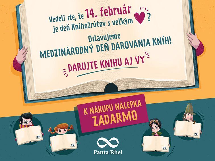 Oslávte s nami Medzinárodný deň darovania kníh
